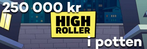 Highroller casino 250000 kr i nyår potten