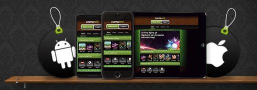 ComeOn casino mobile - nu kan du spela som en gäst på ComeOn mobilcasino utan registrering!