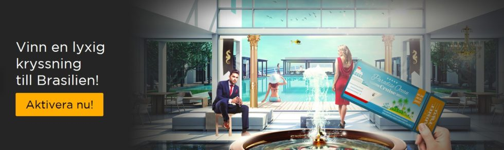 Casino Cruise kampanjer - vinn en lyxig kryssning till Brasilien