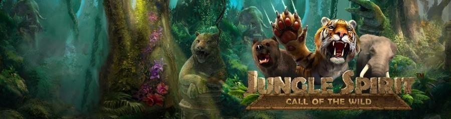 Casinoturnering - delta i Unibets Jungle Spirit casino turnering med 250 000 kronor i potten