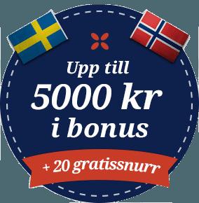 Folkeautomaten casino bonus 100 % upp till 5000 kr i bonus + 20 gratissnurr i välkomstbonus vid första insättning