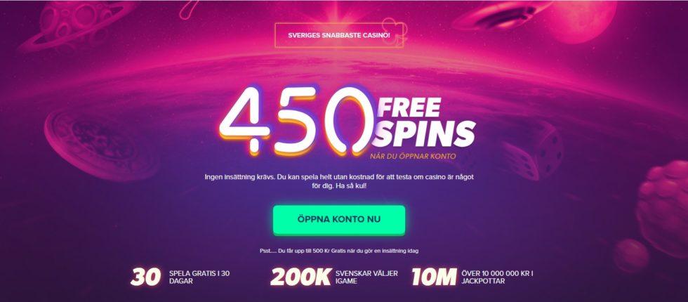 iGame Casino bonus är upp till 10 000 kr och ger dig 600 free spins
