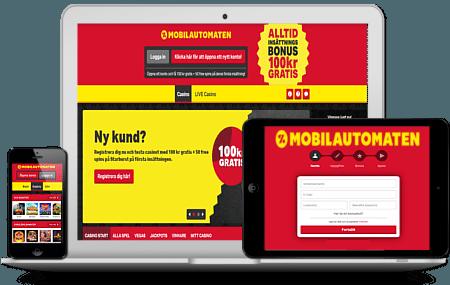 Mobilautomaten app & mobilcasino