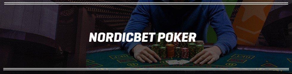 Spela poker i Nordicbet casino
