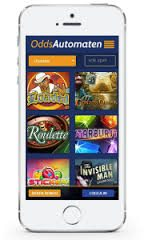 Oddsautomaten mobil casino