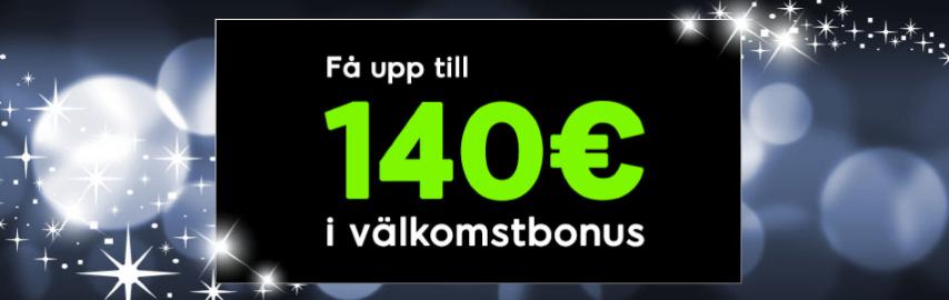 888Casinos välkomstbonus ger dig upp till 1 400kr