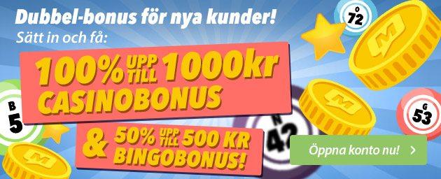 Bonuskod mamamia bingo