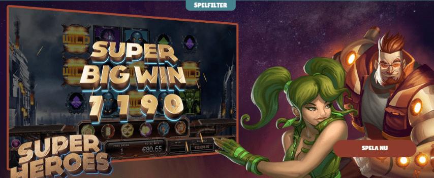 Cashmio Casino 20 gratis spinn utan insättning