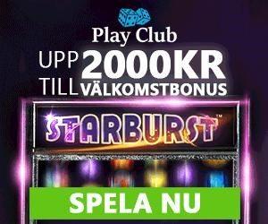 PlayClub Casino bonus omsättningskrav