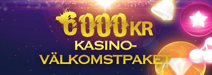 Vipstakes Casinos välkomstpaket ger dig upp till 6 000kr