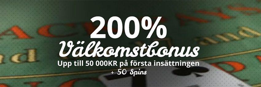 Få hos Casimba Casino upp till 50 000 kronor på din första insättning