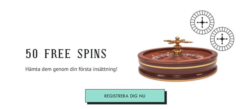 Spilleren casino bonus - få 150% bonus upp till 2500 kr + 50 free spins vid första insättningen!