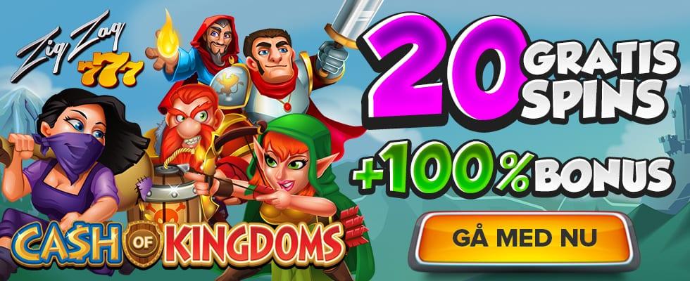 ZigZag777 casino 20 no deposit free spins