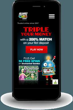 Sloto Cash Casino mobil