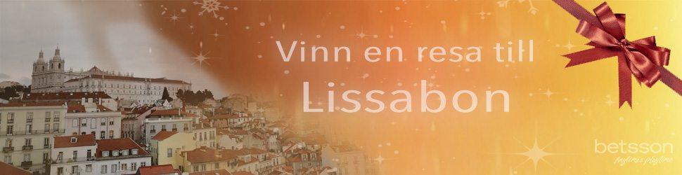 Betsson julkalender 2017 - vinn resa till Lissabon Portugal!