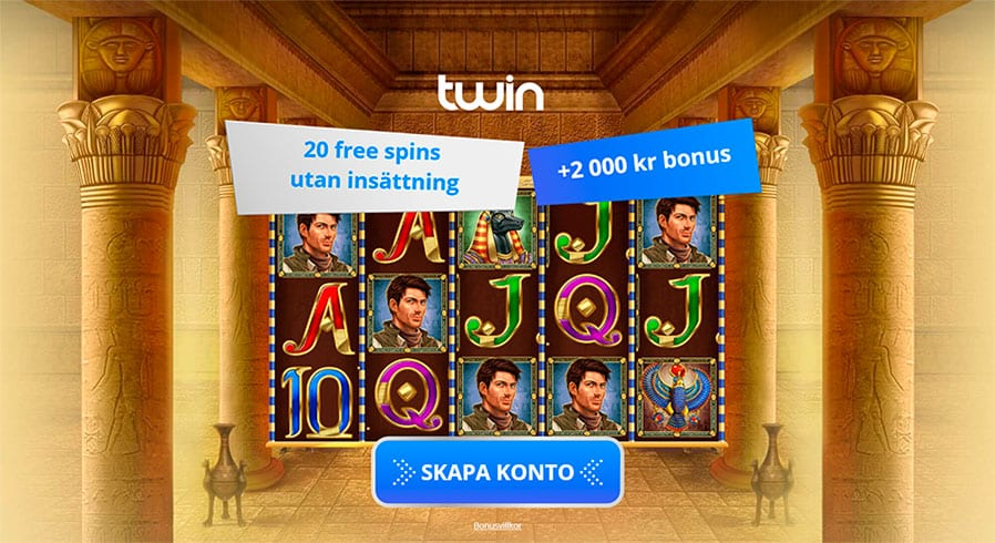 Twin casino ger dig no deposit 20 free spins