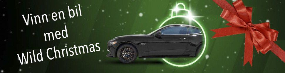 Unibet adventskalender 2017 - freespins & kontantpriser + Ford Mustang!