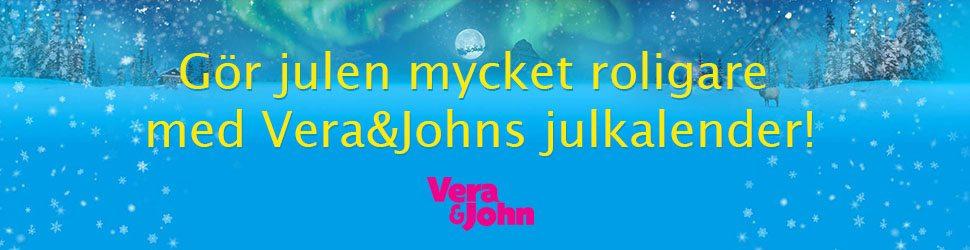 Vera & Johns julkalender göra julen mer rolig