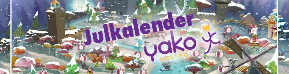 Yako casino julkalender 2017