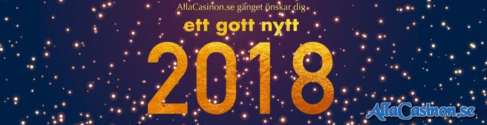 Nyårskampanjer casino 2018 - Ta del av alla kampanjer inför det nya året!