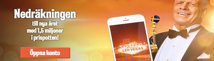 LeoVegas casino nyår bonus