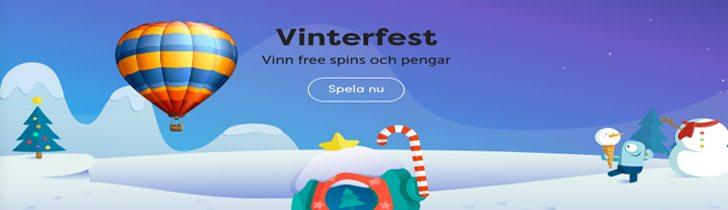 PlayFrank julkalender 2018 - vinn pengar och free spins!
