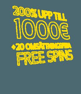 Upp till 10000 kronor hos SPintropolis Casino