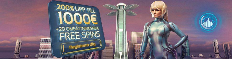Registrera dig hos Spintropolis Casino och fa upp till 10 000 kr