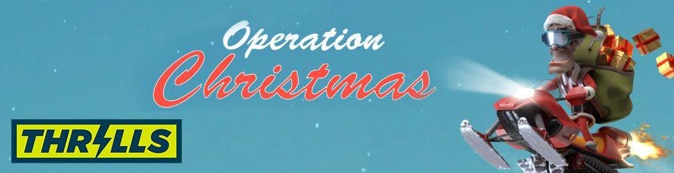 Thrills julkalender Operation Christmas