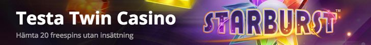 Twin Casino ger dig 20 freespins utan insättning
