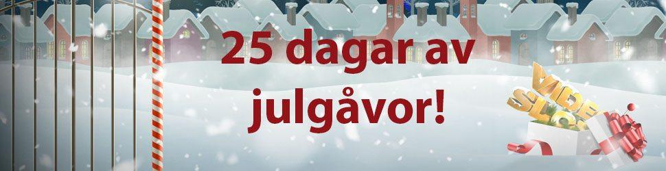 Videoslotsjulkalender kampanj