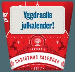 SveaCasino yggdrasils julkalender
