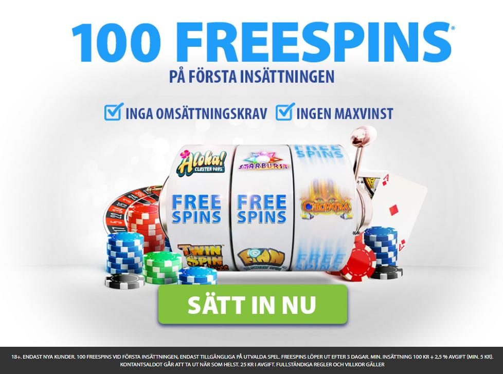 bgo casino bonus utan omsättningskrav - hämta 100 spin utan omsättningskrav