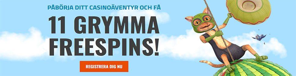 CasinoJEFE gratis free spins - få 11 free spins utan insättning och omsättningskrav