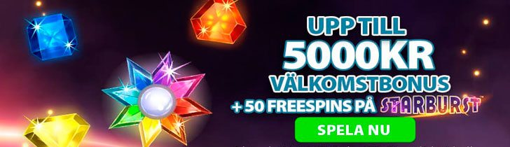 CoinFalls casino välkomstbonus upp till 5000 kr