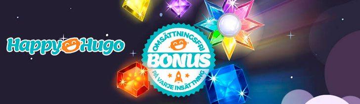 hos Happyhugo casino alla bonusar Är omsättningsfria