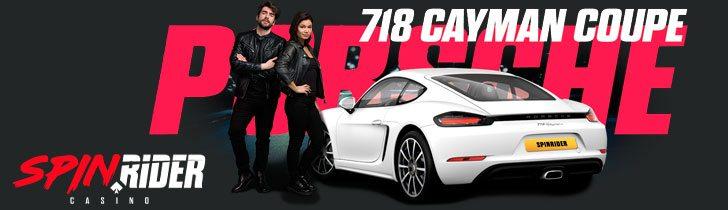Spin Rider casino kampanj - vinn en Porsche