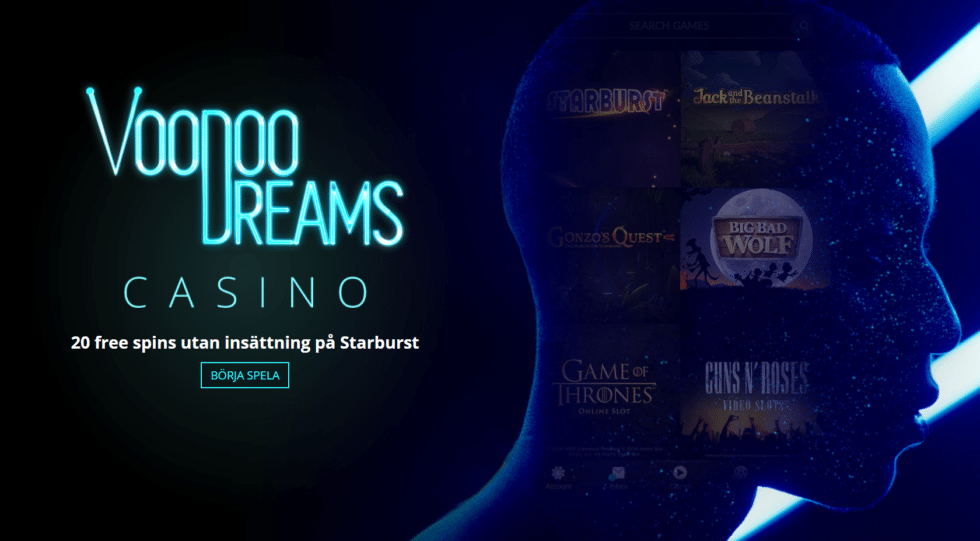 voodoo dreams casino no deposit bonus
