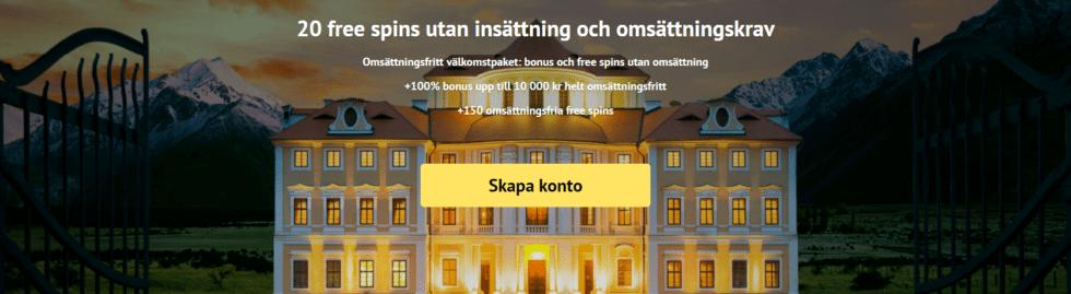 ViggoSlots Casino med välkomstbonus utan insättning