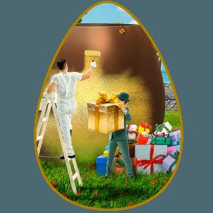 Mr Green påskkampanj och påskäggsjakt