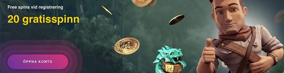 Buran Casino 20 gratis free spins vid registrering