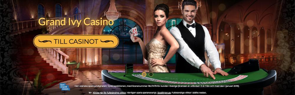 Grand Ivy casino gratis spins utan insättning