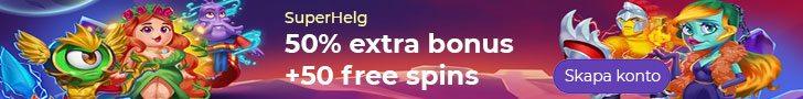Alf casino kampanj - kampanjen SuperHelg ger dig 50 free spins