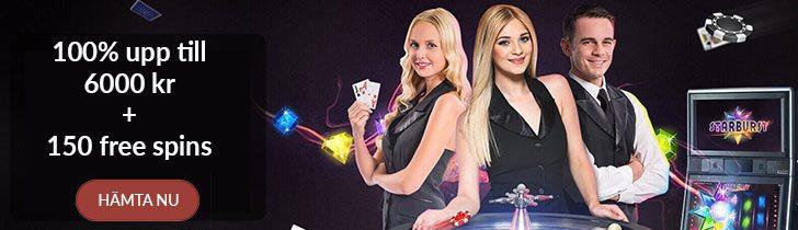 Jackpot Fruity Casino välkomstbonus