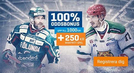 Nordicbet casino oddsbonus - få ett 250 kr riskfritt spel