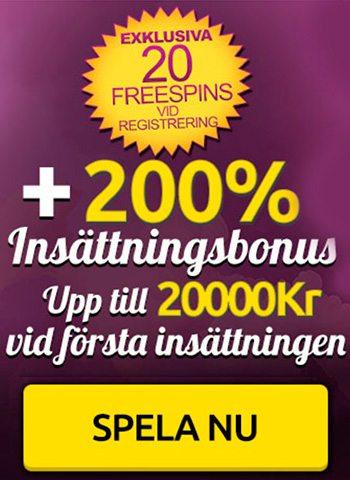 Spin Station casino no deposit free spins - hämta 20 free spins vid registrering