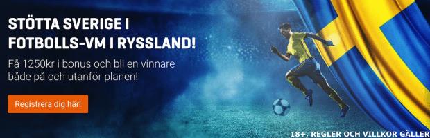 Vilka går vidare i VM 2018? Odds för avancemang fotbolls VM i Ryssland!