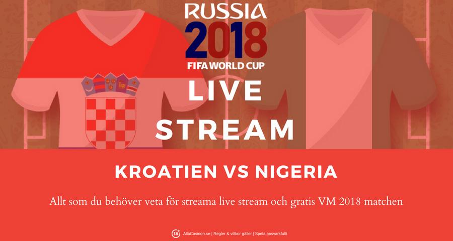 fotbolls vm live stream gratis