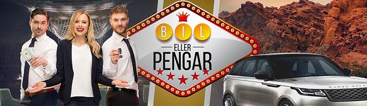 Dream Vegas casino kampanj - vinn en bil med kampanjen Bil eller Pengar
