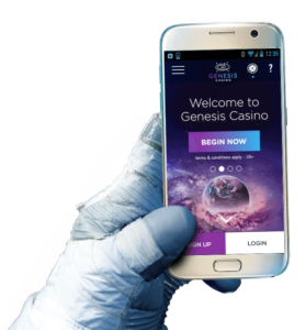 Genesis Casino mobile - spela casino när du vill